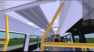 ROBLOX TTC Queensway Ride on Bus 8400 (Description states all of Queensway buses)