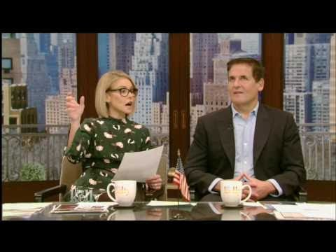Live With Kelly  01 03 2017  Co host Mark Cuban;Queen Latifah 'Star'; Megan Boone