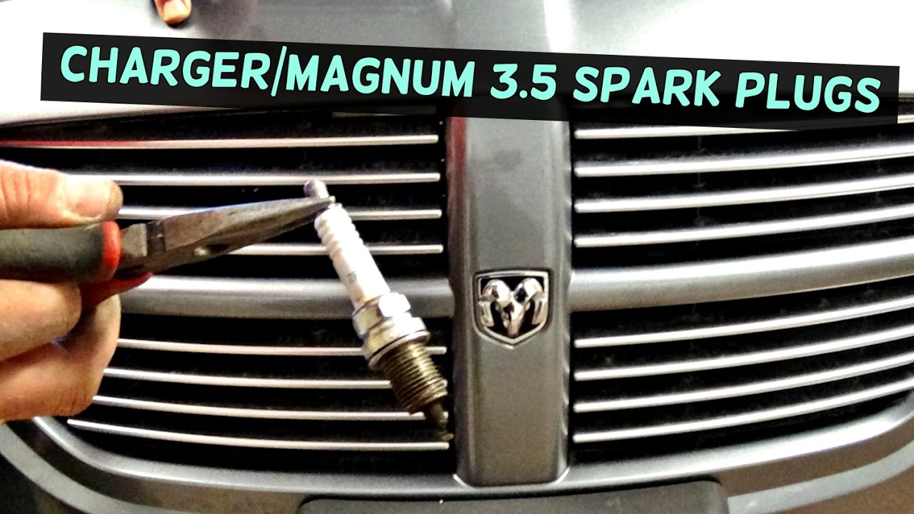 dodge charger how to replace spark plugs and ignition coil | dodge magnum -  youtube