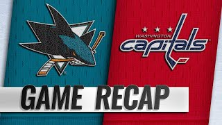 Hertl nets hat trick, OT winner in 7-6 win vs. Caps