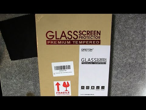 Explosion-Proof Tempered Glass Screen Protector for Amazon Fire - Unboxing and Installation