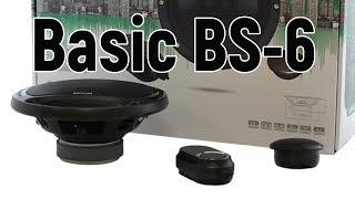 Skylor Basic BS-6 двухкомпонентная акустическая система, обзор, сравнение, отзыв.