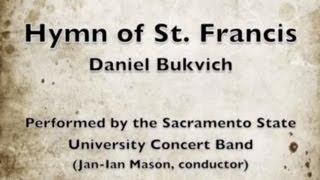 hymn of st francis daniel bukvich
