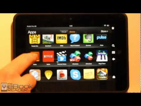 Kindle Fire HD Review + Tips and Tricks