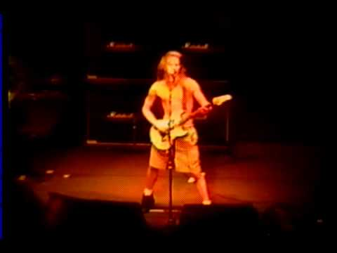 Alice in Chains live in Miami Clash of the Titans 7-14-91