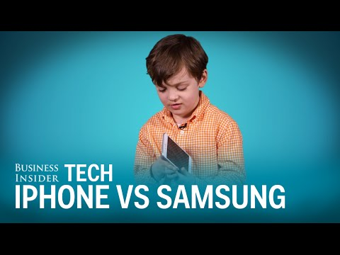 Kids tell us which is better: an Apple or Samsung phone