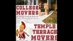 813-431-7398 Temple Terrace Mover Services Temple Terrace Movers Temple Terrace