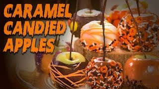 Caramel Candied Apples | Dessert Ideas | Just Add Sugar