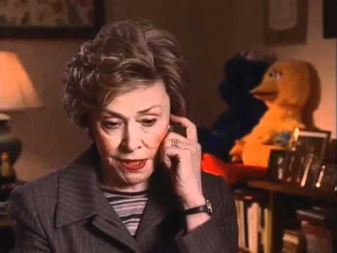 Joan Ganz Cooney discusses the Sesame Street Muppets - EMMYTVLEGENDS