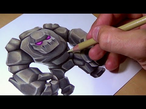 Drawing Golem from
