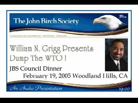 William Norman Grigg: Dump the World Trade Organization (WTO)