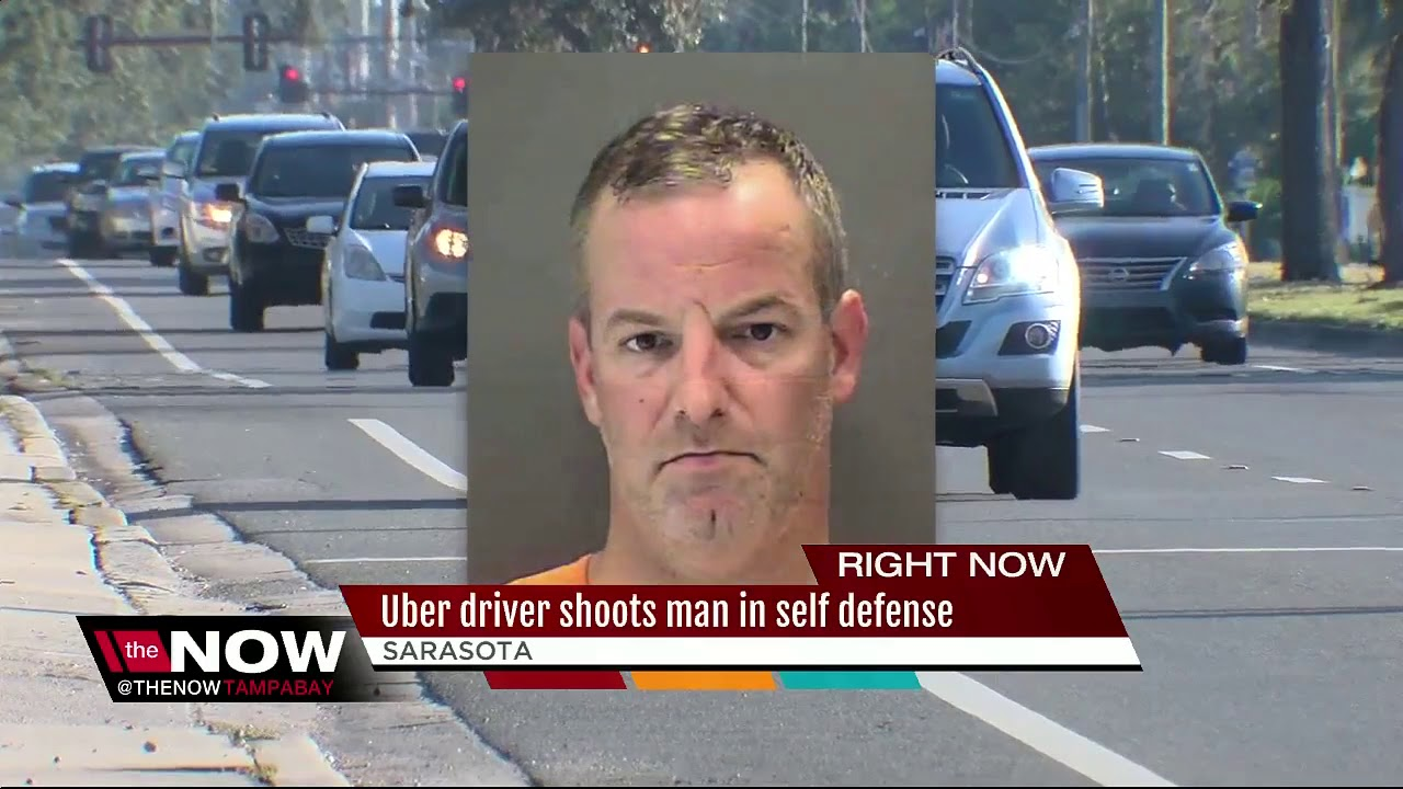 An Uber driver shot and killed his rider after an altercation in the car