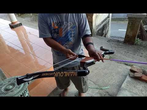 Compound bow PVC
