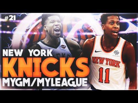 FRANK NTILIKINA MAX CONTRACT?! | NBA 2K18 KNICKS MYLEAGUE #21