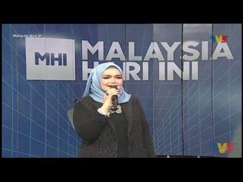 Datuk Seri Siti Nurhaliza – Comel Pipi Merah [LIVE] | MHI