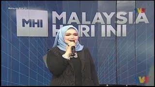 Datuk Seri Siti Nurhaliza Comel Pipi Merah LIVE MHI