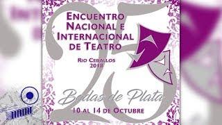 25 años del Encuentro de Teatro de Río Ceballos
