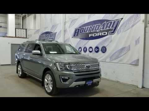 2019 Ford Expedition Platinum MAX 600A W/ 3.5L EcoBoost, Leather Overview | Boundary Ford