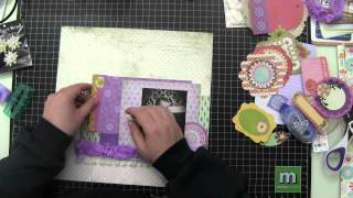 Scrapbooking Process Video, Miss C