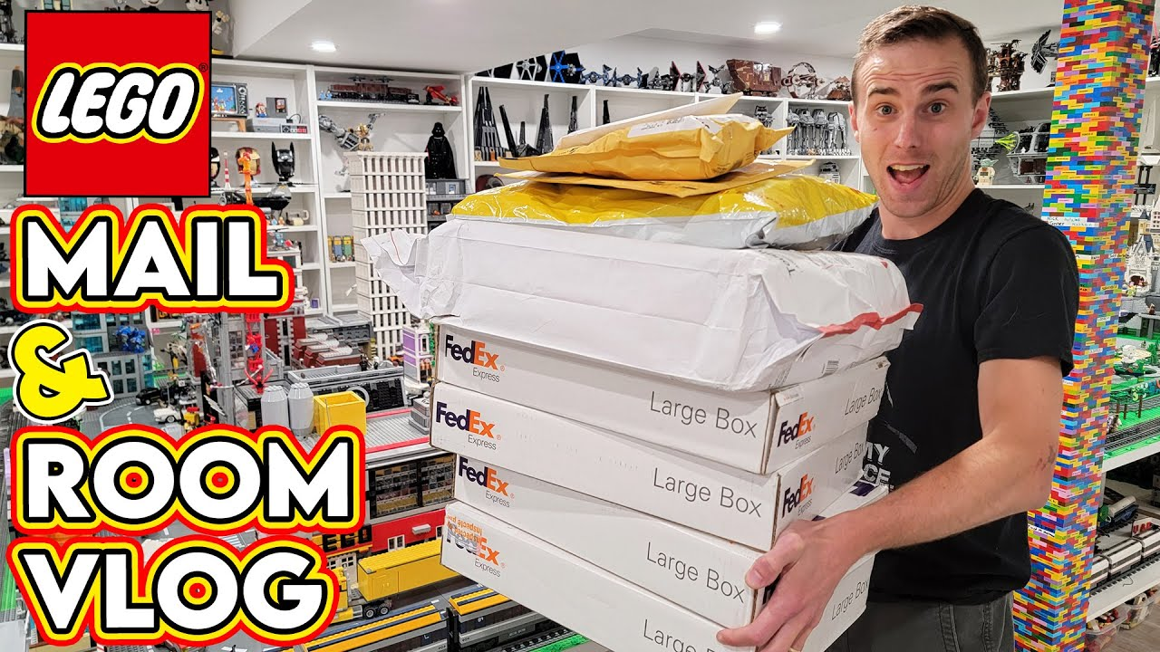 Big LEGO Unboxing, Zoo Animals, & Room VLOG!