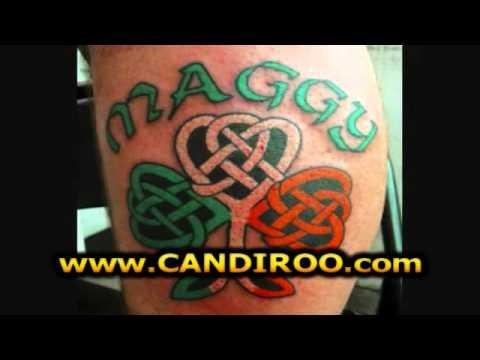 Tatuajes De Treboles De Cuatro Hojas Tatuaje Trebol 4 Hojas Youtube