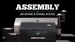 2016 Jim Bowie and Daniel Boone Assembly Video | Green Mountain Grills
