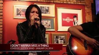 Aerosmith - I Don't Wanna Miss a Thing - Sung by : Ellie Pasaribu (2014)