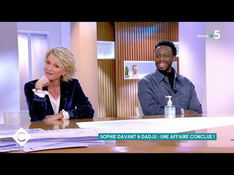 Youtube: Sophie Davant & Dadju, l'affaire conclue ! – C à Vous – 13/01/2020