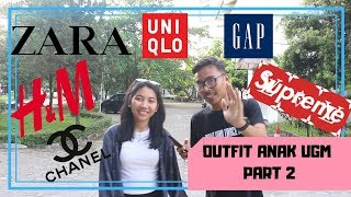 HARGA OUTFIT ANAK UGM (PART 2)