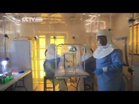 Ebola: Mobile Testing Centre Open Outside the Capital in Sierra Leone