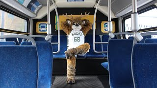 Ride MCTS to Cheer on Bucks During 2019 Playoffs