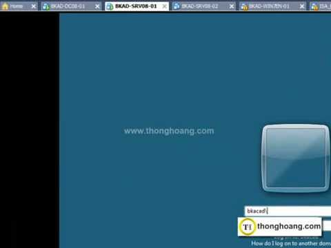 0.2 Hướng dẫn Join client vào domain windows server 2008