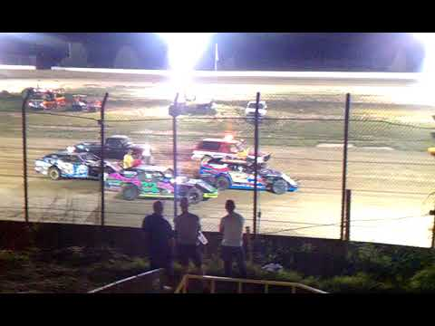 B MOD Semi Hard Start @Clay County Speedway