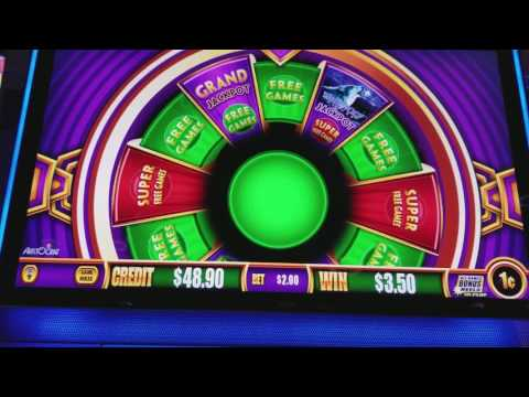 LIVE PLAY Wonder 4 Slot machine - Timber Wolf Deluxe - 7/20/17