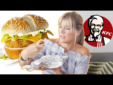 I Ordered Everything VEGAN at KFC | KFC Vegan Chicken Fast F