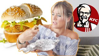 I Ordered Everything VEGAN at KFC   KFC Vegan Chicken Fast Food Taste Test   The Edgy Veg