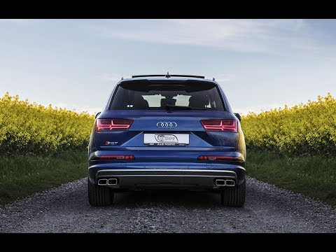 2018 AUDI SQ7 (435hp/900Nm) in the fields of gold - Driving footage, exterior, drone etc