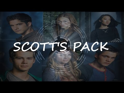 "Scott's Pack || ""Also known as our best friends."" {5x12}"