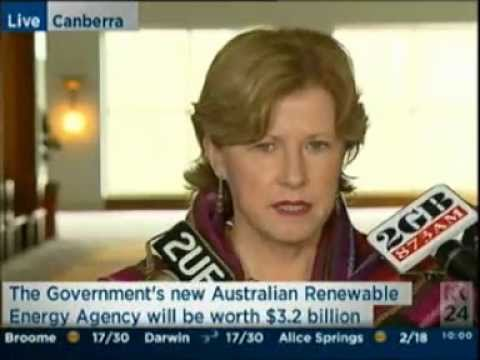 Announcing the Australian Renewable Energy Agency