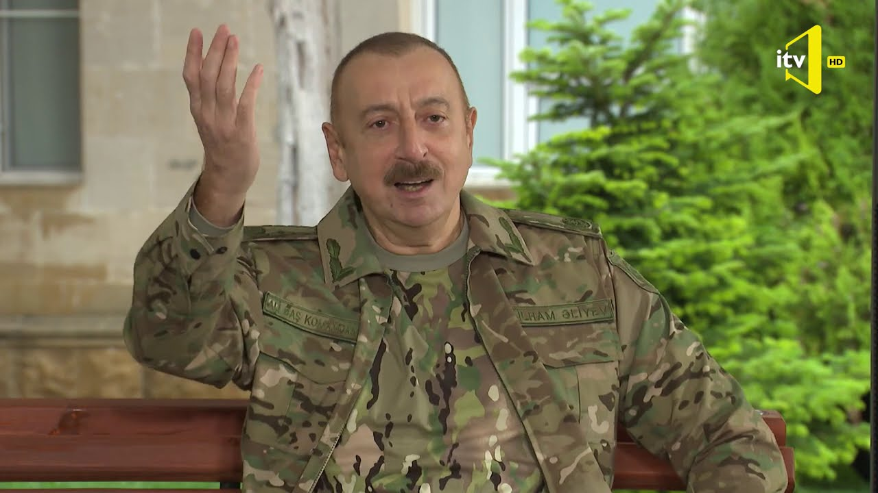 """Prezident İlham Əliyev: """"Ay Paşinyan, sən harada bunu imzalamısan ?"""""""