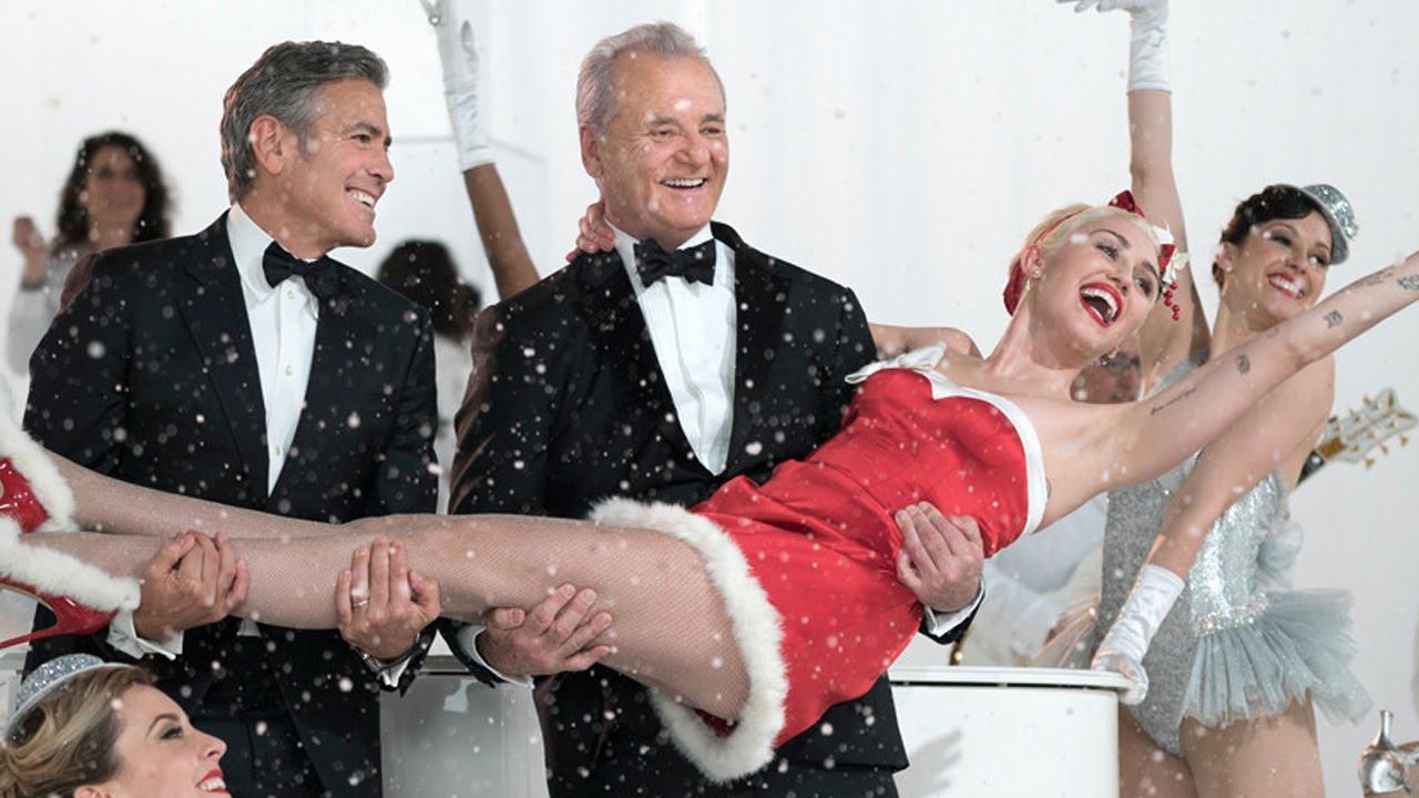 miley cyrus bill murray netflix christmas show sneak peek - Miley Cyrus Christmas