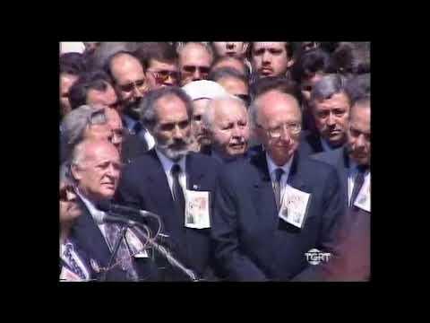 Turgut Özal Cenaze Merasim Haberi TGRT 1993