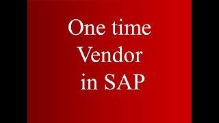 SAP MM bir Satıcı