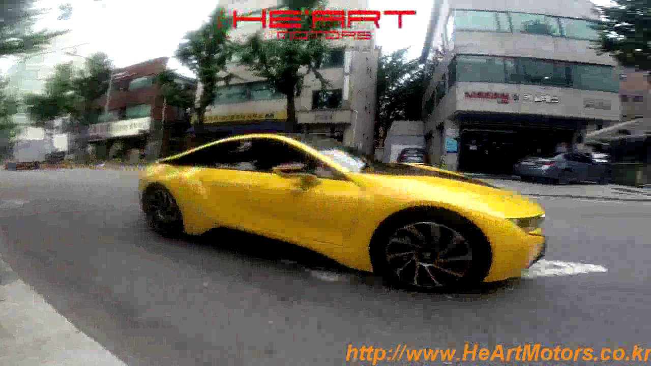 Bmw I8 He Art Exhaust System Loud Type Youtube