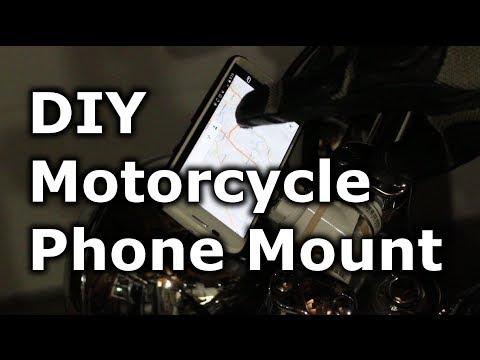 Fast Hacks #29 – DIY Motorcycle Phone Mount