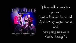 Leslie Grace Diganle ft Becky G CNCO Remix Letra English lyrics.mp3
