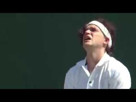 Funny Wimbledon tennis spoof