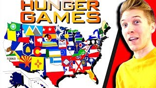 All 50 States in HUNGER GAMES SIMULATOR!