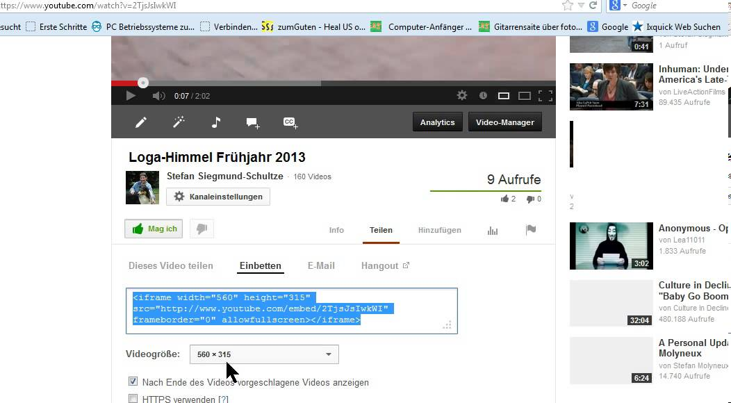 Youtube Videos Am Ende Abschalten Youtube