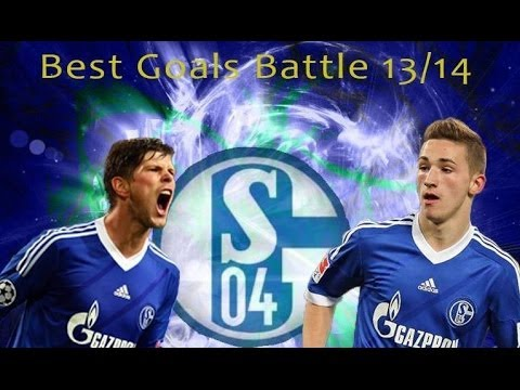 Donis Avdijaj | Great Striker | Schalke 04 Talent | Best Goals Battle vs Huntelaar | 13/14 [HD]